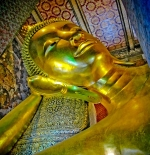 The largest reclining Buddha