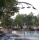 Fountains at Street Beach