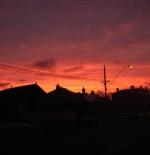 Brunswick Road sunset