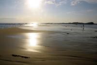 منظر من الشاطى صباحا