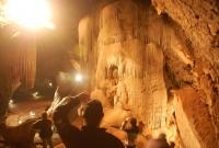 Inside Wellington Caves