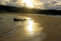 Sunset over Mystery Bay