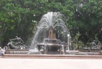 Fountain in Hyde Park