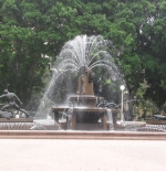 Fountain in Hyde Park