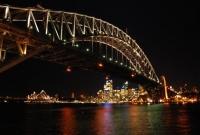Harbour Bridge och Opera huset