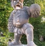 تمثال القزم في سالزبورج