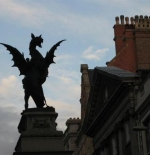 Dragon statue (Temple Bar)