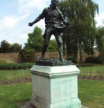 Kew Gardens Estatua de un jardinero