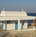 A church at south shore of Konnos Bay