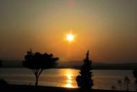 sunset – Larnaca Salt Lake