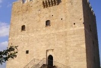 outside of castle in limassol