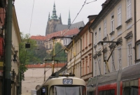 Tram and Castle