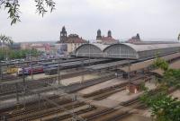 محطة القطار في براغ