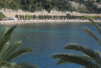 The beach at Ville Franche