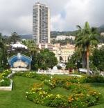 Gardens outside Casino Monte Carlo