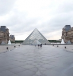 The Louvre courtyard