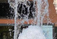 Water fountain in Baden-baden