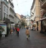 شارع التسوق في مدينة بادن بادن