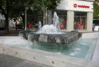 نافورة في ساحة ليوبولد