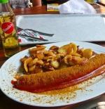 Curry bratwurst