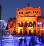 Alte Oper, the old opera house, now a concert hall