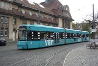 Tram at Frankfurt South Station