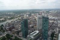 صورة للمدينة من البرج الرئيسي