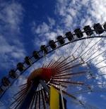 حديقة عجلة فيريس في مهرجان أكتوبر