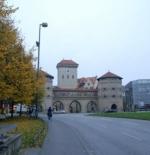 مدخل البلدة القديمة من مدينة ميونخ
