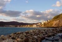 مرفأ في جزر اليونان