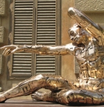 تمثال في مدينة فلورانس