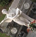 تمثال في مدينة ميلان