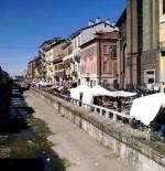 flea market beside the river