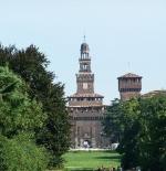 قلعة سفورزا في ميلان