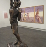 التمثال في معرض الفنون