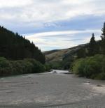 عبور مجرى النهر الجاف