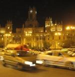 مدينة مدريد ليلا