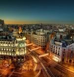 شوارع مدينة مدريد
