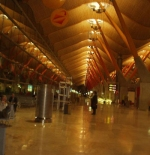 Barajas International Airport, Madrid, Spain