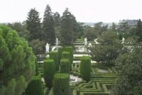 Madrid giardino palazzo reale