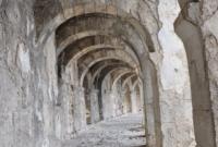 Amphitheatre top arches