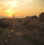 غروب الشمس على كييف