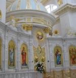 Eine Kirche in weiss