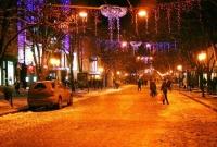 shops at night