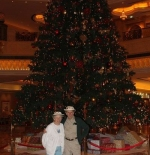 tree in Emirates Palace