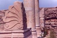 بقايا المباني الرومانية التاريخيه