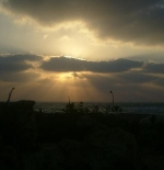 Sunset in Montazah Garden