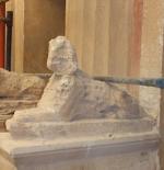 Sphinx at Mustafa Kamel Necropolis