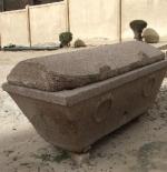 Sarcophagus at Mustafa Kamel Necropolis