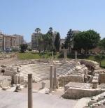 Roman ruins downtown